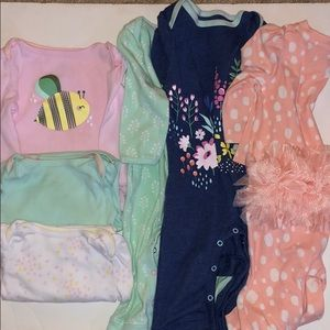 Baby girl bundle size 3-6 months